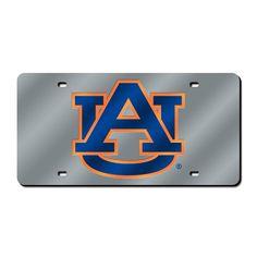 Auburn Tigers NCAA Laser Cut License Plate Cover