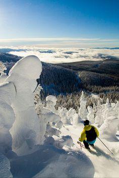 Big White Ski Resort in British Columbia #explorecanada