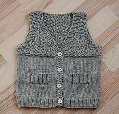 A baby boy vest