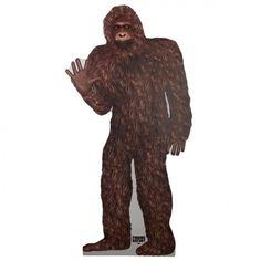 Finding Bigfoot Standee