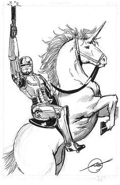 41 best robocoponaunicorn images a unicorn unicorn altered books GTA V PC robocop on a unicorn adoption in this moment unicorns weird foster care