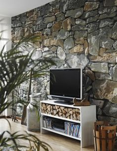 Stones Like Stones mural 8 4x12 1 industrial loft and lofts