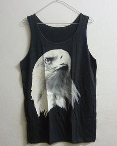 c3397984e94604 Long Tank top Native American Black eagle by BlackTeenFashionLong Tank top  Native American Black eagle shirt bird tshirt animal men t shirt women  singlet ...