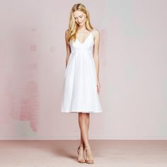 Cari Dress | vivianchan - #strappydress #whitedress #summer2015 #babydoll #dress #summerstyle