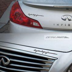 Detailpart Car Emblem for INFINITI