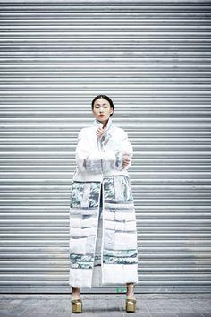 Su-Joung Shin #Fashion: Design With Knitwear 2013 - Central Saint Martins #CSM