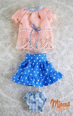 Outfit  for Blythe by Miema Dollhouse by miema4dolls on Etsy, $26.00
