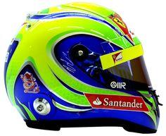 F1 Helmet 2012 Felipe Massa (Scuderia Ferrari)