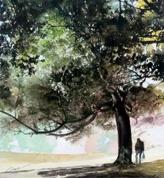 Kenji Aoe Watercolor