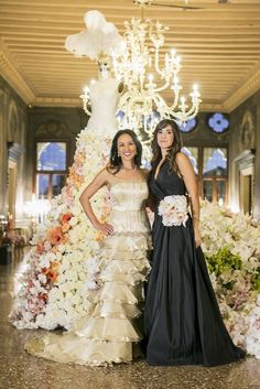 Karen Tran & I #karentran #federicaambrosinifloraldesign #flowers #flowerlovers #wedding #bouquet #centerpieces #wedding #weddingday