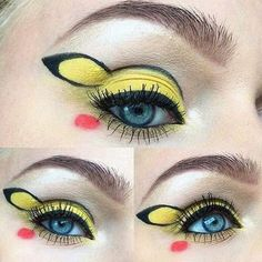 Neuer Hype im Netz: Pokemon-Make-Up #Pikachu #makeup