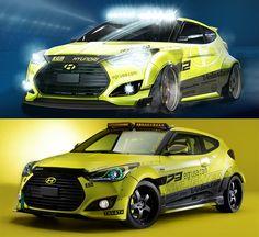 Hyundai Teasers, SEMA 2013 - PopMech