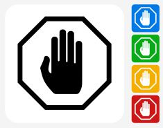 Stop Sign Icon Flat Graphic Design vector art illustration Vector Icons, Vector Art, Royalty, Design Inspiration, Illustrations, Graphic Design, Flat, Vectors, Concept