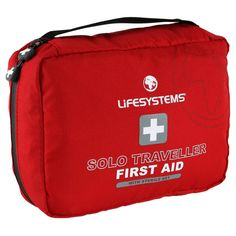 The Lifesystems Solo Traveller First Aid Kit contains first aid items and sterile equipment that no independent traveller should be without. (£36)