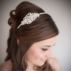 25 Wedding Hairstyles with Headbands | Fashion Trends