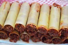 Paradicsomos raguval töltött cannelloni | Életszépítők