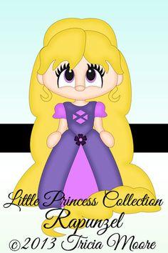 Little Scraps of Heaven - Rapunzel