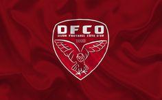 Lataa kuva Dijon, Football club, Dijon-tunnus, logo, Ranska, Ligue 1, jalkapallo