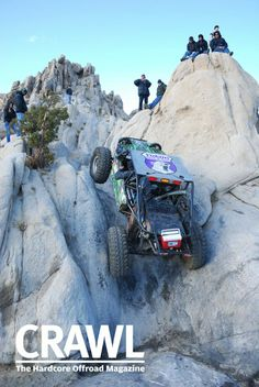 where can he go if he reaches the top? looks like an accident waiting to happen. Jeep Cars, Jeep 4x4, Jeep Truck, 4x4 Trucks, Custom Trucks, Off Road Buggy, Off Road Racing, 4x4 Off Road, Extreme 4x4