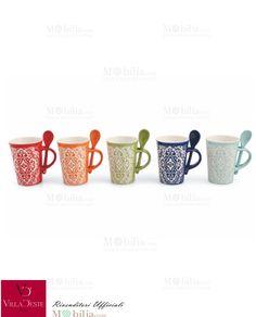 Per un momento di pausa ideale acquistate le Tazzine Caffè Colorate Marocco di Villa d'Este che potrete utilizzare a colazione o per servire il caffè ai vostri ospiti! Scopri le eccezionali offerte su Mobilia Store!