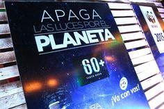 Apagamos las luces por el planeta #HoraDelPlaneta #PlazaFutura #ElSalvador #TierraFutura #EarthHour