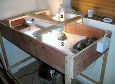 #DIY Tortoise Table - PetDIYs.com