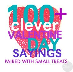 150+ Valentines day sayings paired with small treats! Funny Valentine Messages, Cute Valentine Ideas, Happy Valentine Day Quotes, Valentines Day Wishes, Valentines Day Quotes For Husband, Funny Messages, Valentine Gifts, Candy Quotes, Valentine's Day Quotes
