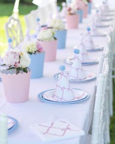 Table placement🎂 Brooke's Birthday Party! Nursery Rhyme Party, 4th Birthday Parties, Birthday Ideas, Happy Birthday, Pancake Party, Twin First Birthday, Bday Girl, Princess Party, Disney Princess