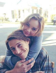 Luke Bracey and Liana Liberato (young Dawson and Amanda) on the set of The Best of Me! Liana Liberato, Luke Bracey, Sparks Movies, The Spectacular Now, Dear Future Husband, Nicholas Sparks, The Fault In Our Stars, Les Miserables, Celebrity Couples