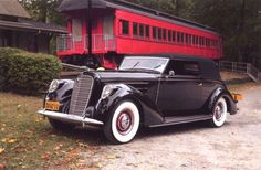 1937 Lincoln K Convertible Victoria by Brunn; image courtesy of Jerry Beard Since its inception by Henry Leland in the Lincoln Motor Car Company made a c Lincoln Motor Company, Ford Motor Company, Vintage Cars, Antique Cars, Vintage Auto, Lincoln Convertible, Lincoln Models, Automobile Companies, Ford Lincoln Mercury