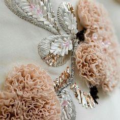 #craftsmanship #embroideries by #diorhautecouture #hautecouture