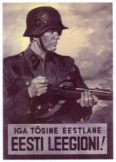 Propagande pour La Division SS Estonie.