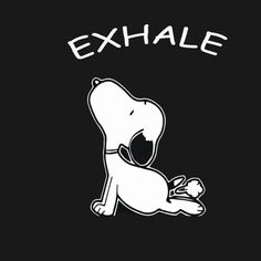 Exhale Snoopy Yoga Funny tshirt - Health Lifestyle Mediation Om Pants Quote Wear Yogasnoopyfitness Center Physical Fitness Fitness Freak Fitness Instructor Fitness Training Fitness Club Medical Fitnessfitnesswork Outexhale Snoopy Yoga Funny Love Snoppy Snoopy Lo - Tank Top | TeePublic