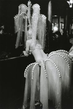 The Follies circa 1920. Photograph by Édouard Boubat  SNOW QUEEN