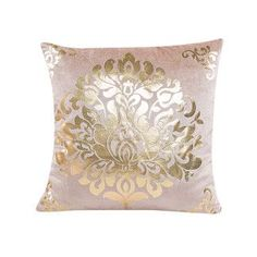 My House New Pillow Case Sofa Waist Throw Cushion Cover Home Decor Gold velvet drop shipping Nov30