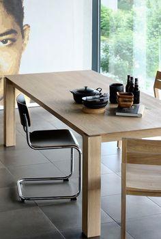 Slice Teak Table | ETHNICRAFT | DomésticoShop