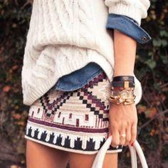 aztec skirt mini dress aztec skirt