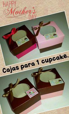 Cajas para cupcake.
