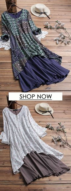 Dress Dress Plus size casual dress for women. Shop now! Dress Plus size casual dress f Vestidos Plus Size, Plus Size Dresses, Vestidos Vintage, Vintage Dresses, Mode Outfits, Trendy Outfits, Tee Dress, Belted Shirt Dress, Casual Dresses For Women