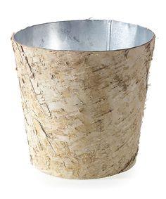 Look what I found on #zulily! Birch & Zinc Pot by Accent Décor #zulilyfinds
