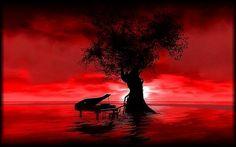 """""""Red Skies"""" by RheaChoral - #metaverse #virtualworlds"""