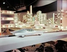 Futurama II- The City Of The Future  GM Pavilion, 1964 New York World's Fair