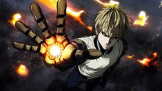 Anime One-Punch Man  Genos Wallpaper