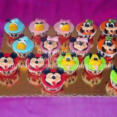 Cupcakes da Festa do Mickey