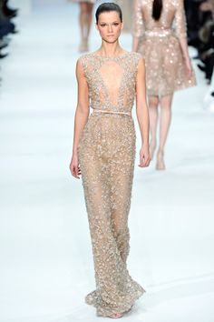 Elie Saab Spring 2012 Couture Collection Slideshow on Style.com