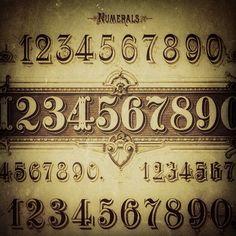 numbers, old school, school number