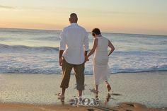 Ocean City MD sunrise elopement on the beach by Rox beach Weddings:  http://roxbeach.com/