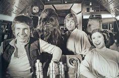 #starwars la guerra de las galaxias#harrisonford la princessa leila Luke #skywalker Chwakaa