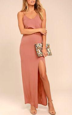 Summer Maxi Dress Maternity Suitable Nude Grape Cap Sleeve Comfy Soft Jersy