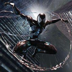 Black Spiderman, Amazing Spiderman, Marvel Comics, Joker, Batman, Venom, Artwork, Universe, Wallpapers